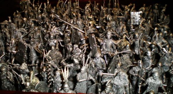 Самая большая коллекция солдатиков в